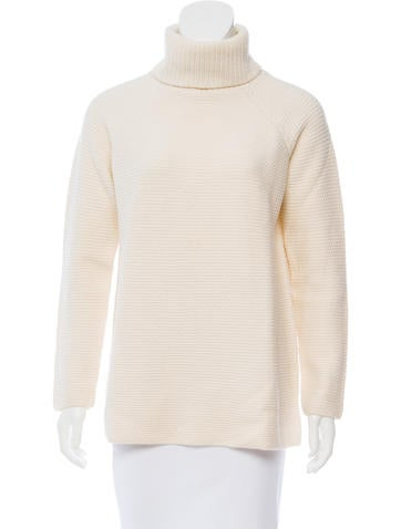Tory Burch Turtleneck Wool Sweater None