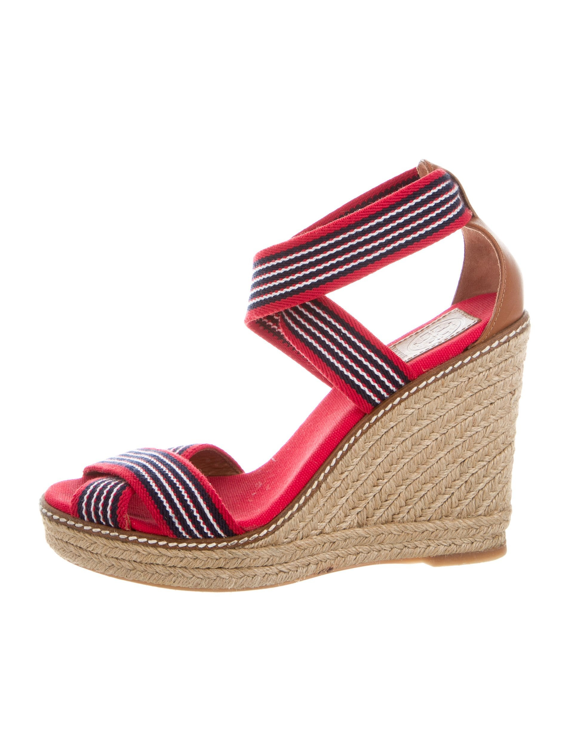 Women · Shoes; Tory Burch Crossover Espadrille Wedges. Crossover Espadrille  Wedges