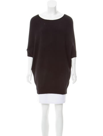 Tory Burch Oversize Cashmere Top None