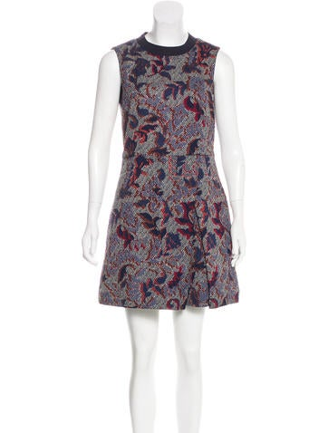 Tory Burch Floral Mini Dress None