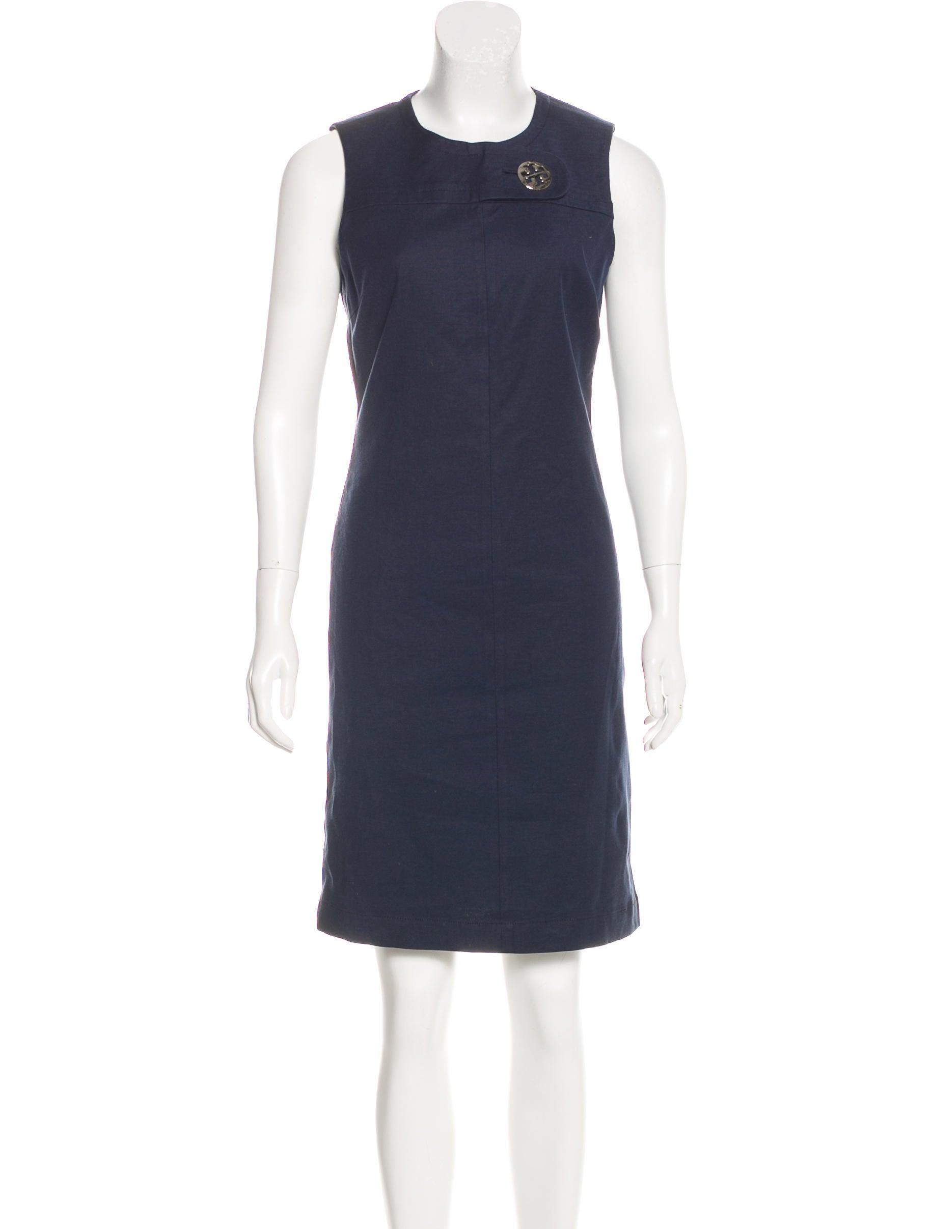 eae951ad044 Women · Clothing  Tory Burch Linen Blend Sheath Dress. Linen Blend Sheath  Dress