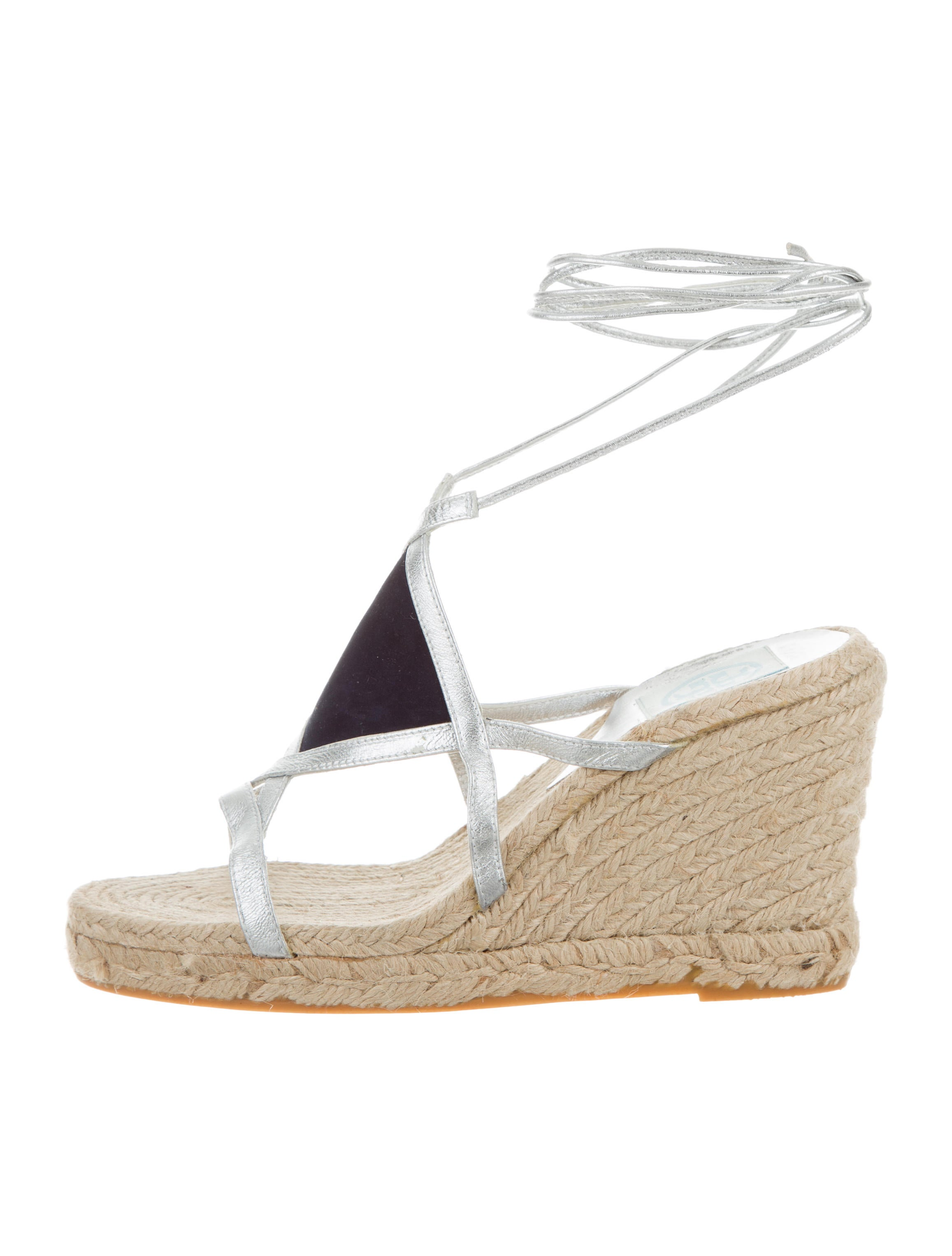7054dc684d632 Tory Burch Espadrille Wedge Sandals - Shoes - WTO117711