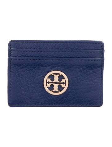 Tory Burch Leather Slim Card Case None