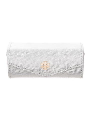 Tory Burch Leather Lipstick Case None