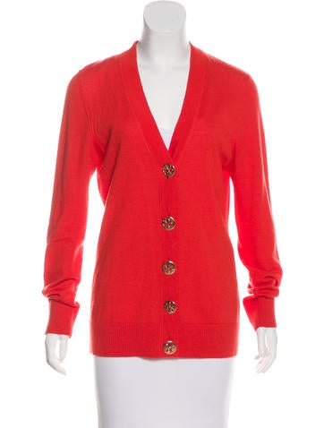 Tory Burch Wool Knit Cardigan None