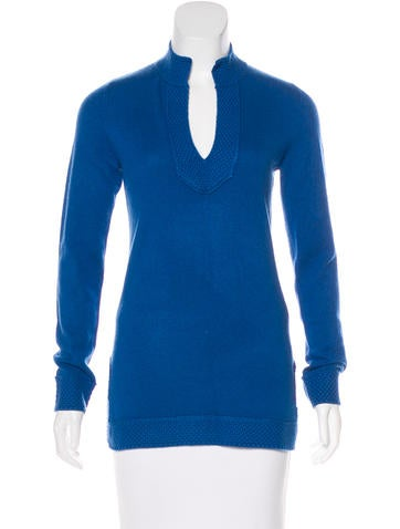 Tory Burch Knit Cashmere Sweater None