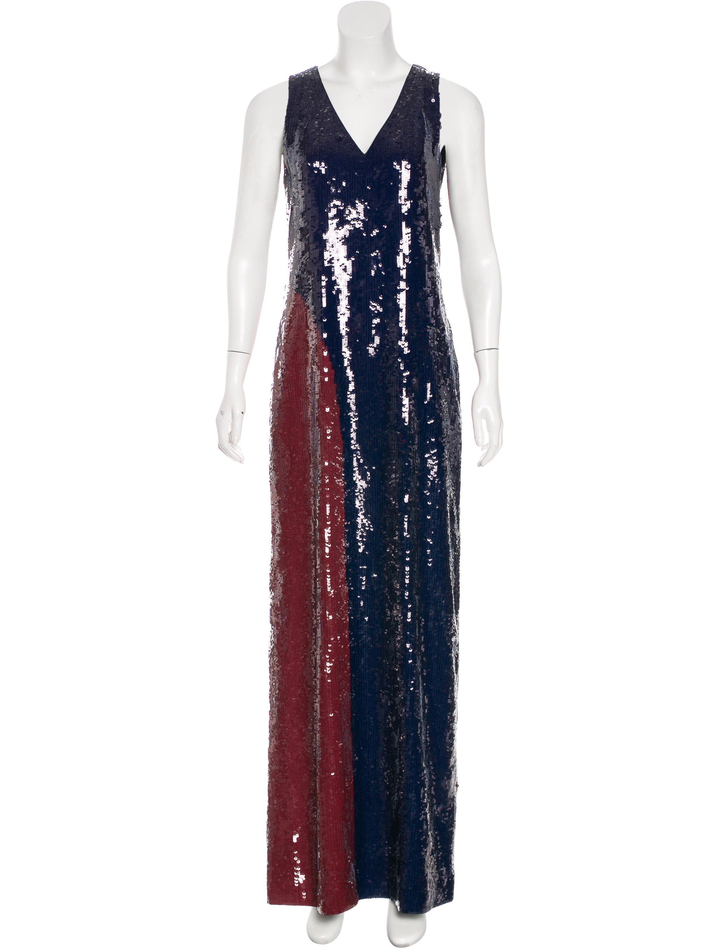 Tory Burch Ophelia Evening Dress w/ Tags - Clothing - WTO121088 ...