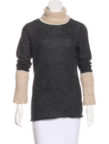 Tory Burch Textured Knit Sweater None