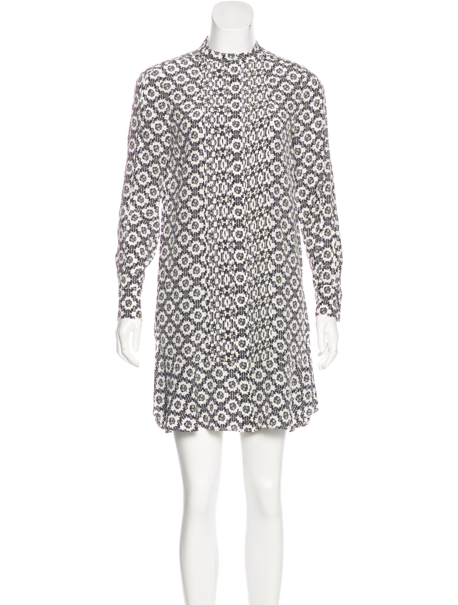 fd9bdd1c8909 Tory Burch Silk Shirt Dress - Clothing - WTO121385