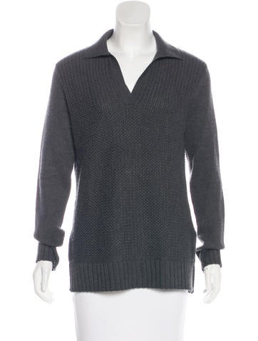Tory Burch Knit Long Sleeve Sweater None