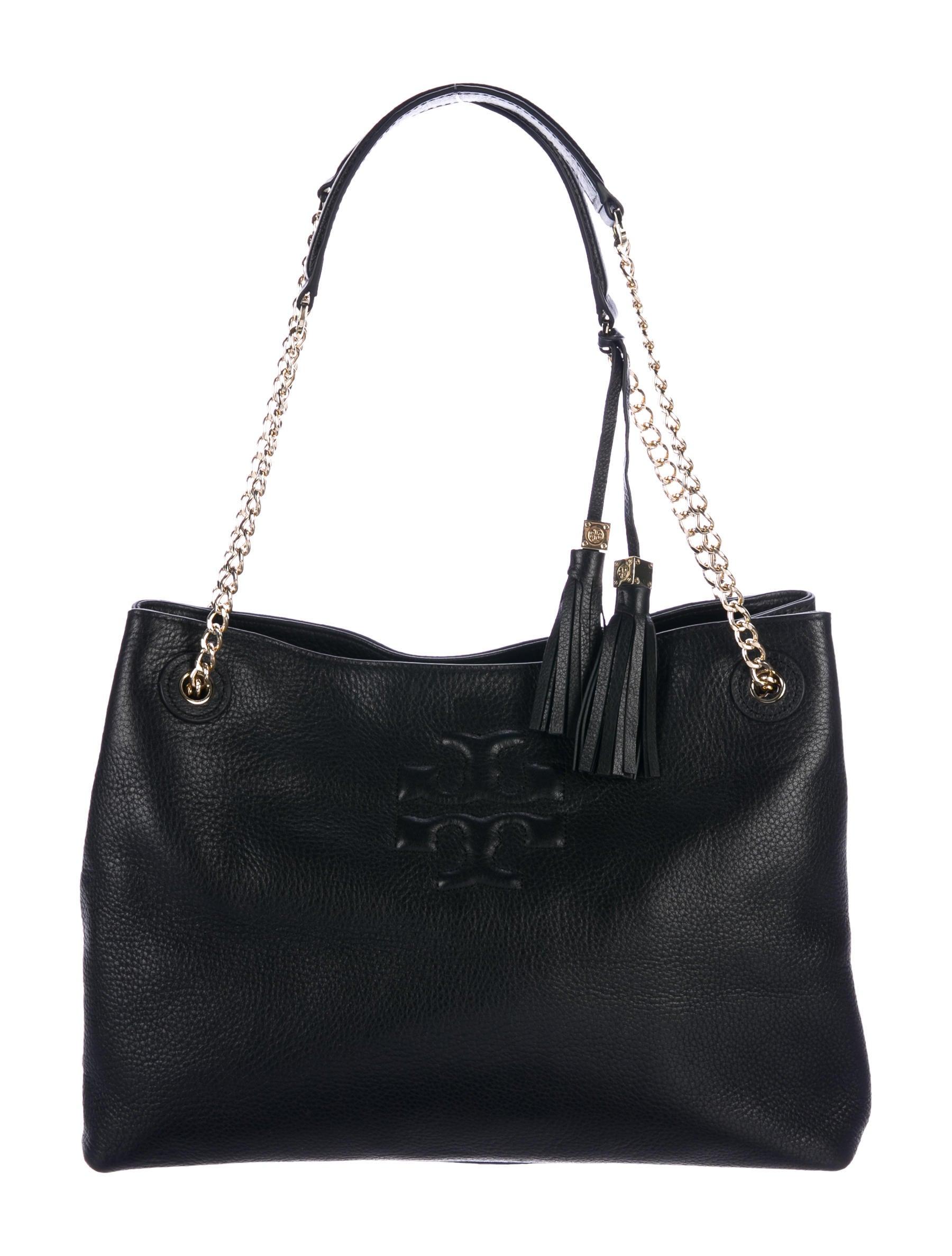 6ba910d65488 Tory Burch Thea Chain Shoulder Slouchy Tote - Handbags - WTO121598 ...
