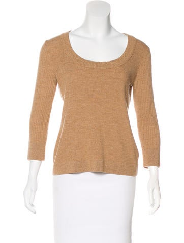 Tory Burch Wool Long Sleeve Top None