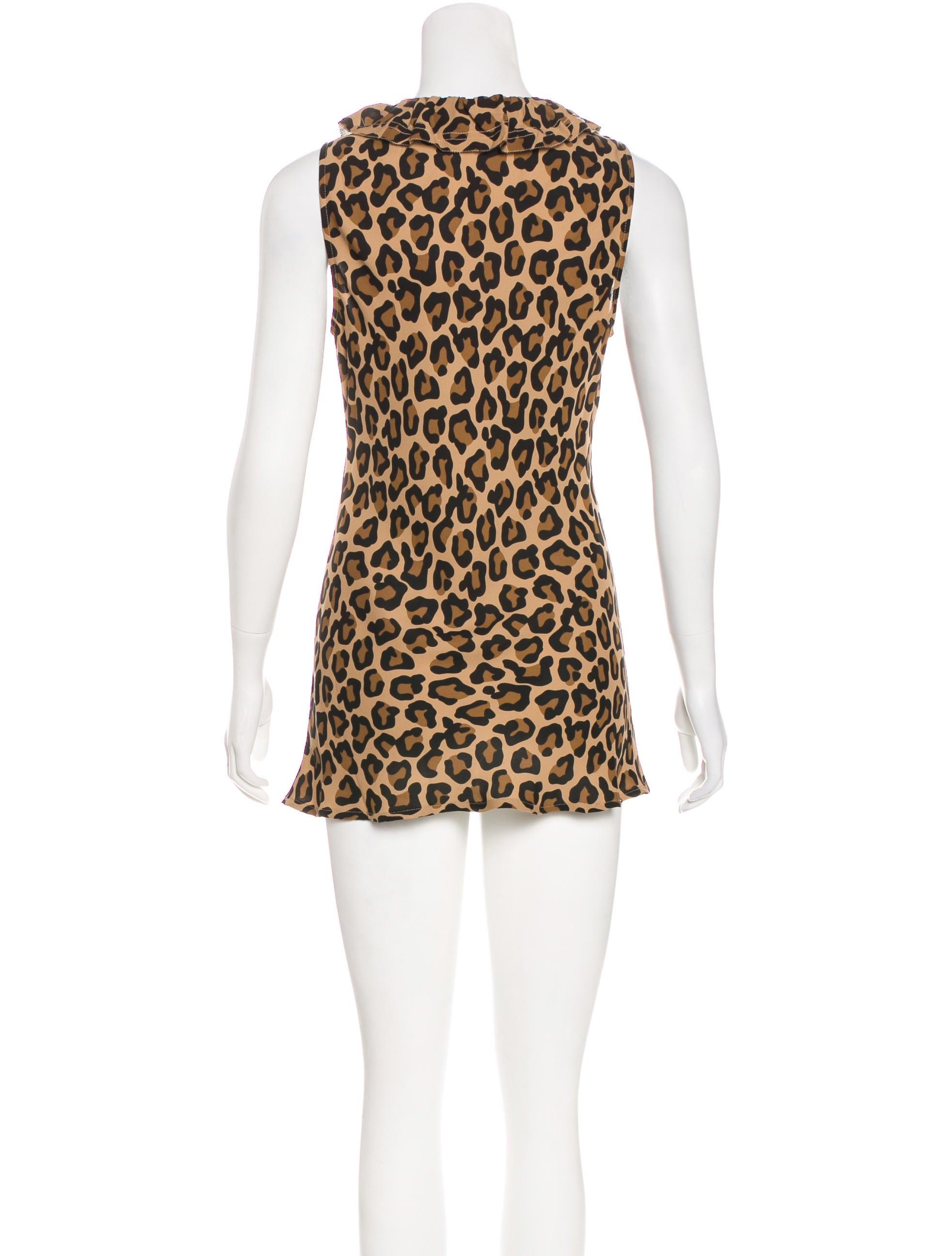2487cc3ec2a1b5 Tory Burch Ruffled Silk Top - Clothing - WTO121924