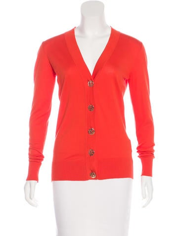 Tory Burch Button-Up Cardigan None