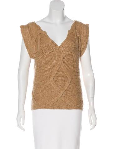 Tory Burch Wool-Blend Sweater None