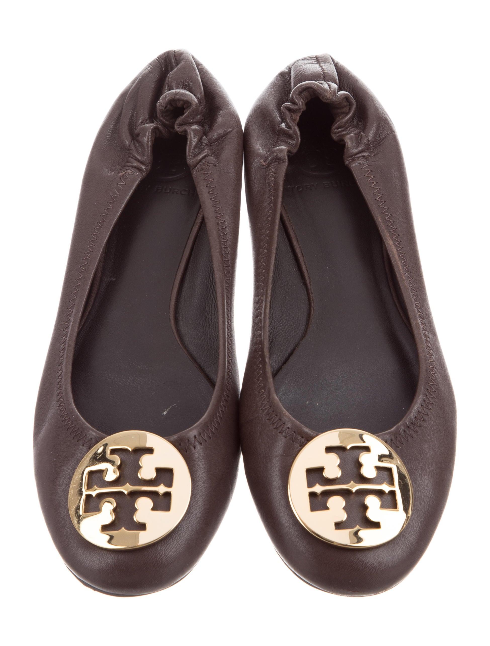 Leather Reva Flats