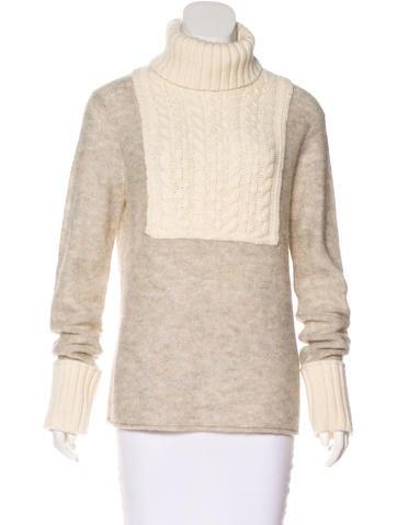 Tory Burch Alpaca-Blend Sweater None