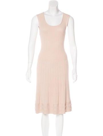 Tory Burch Sleeveless Knit Dress None