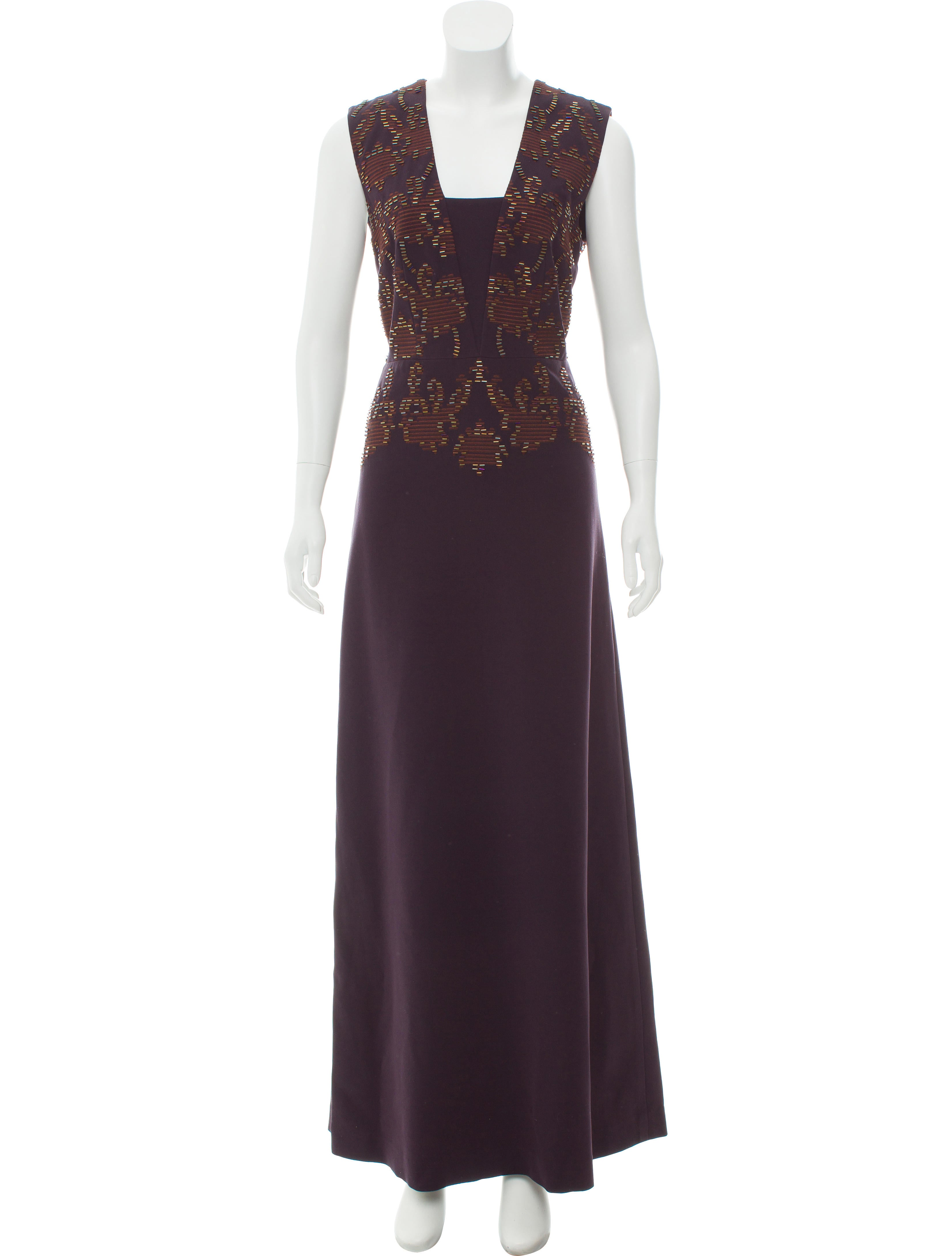 Tory Burch Embellished Evening Dress - Clothing - WTO124292 | The ...