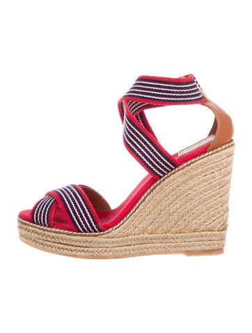 Tory Burch Adonis Espadrille Wedge Sandals None