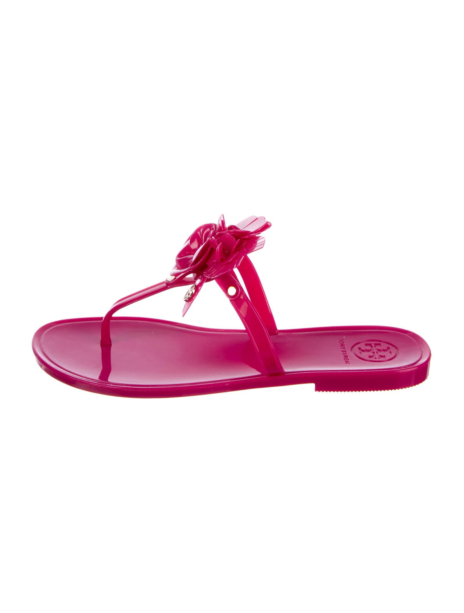 db007e00b8a6f8 Tory Burch Blossom Rubber Sandals w  Tags - Shoes - WTO124719