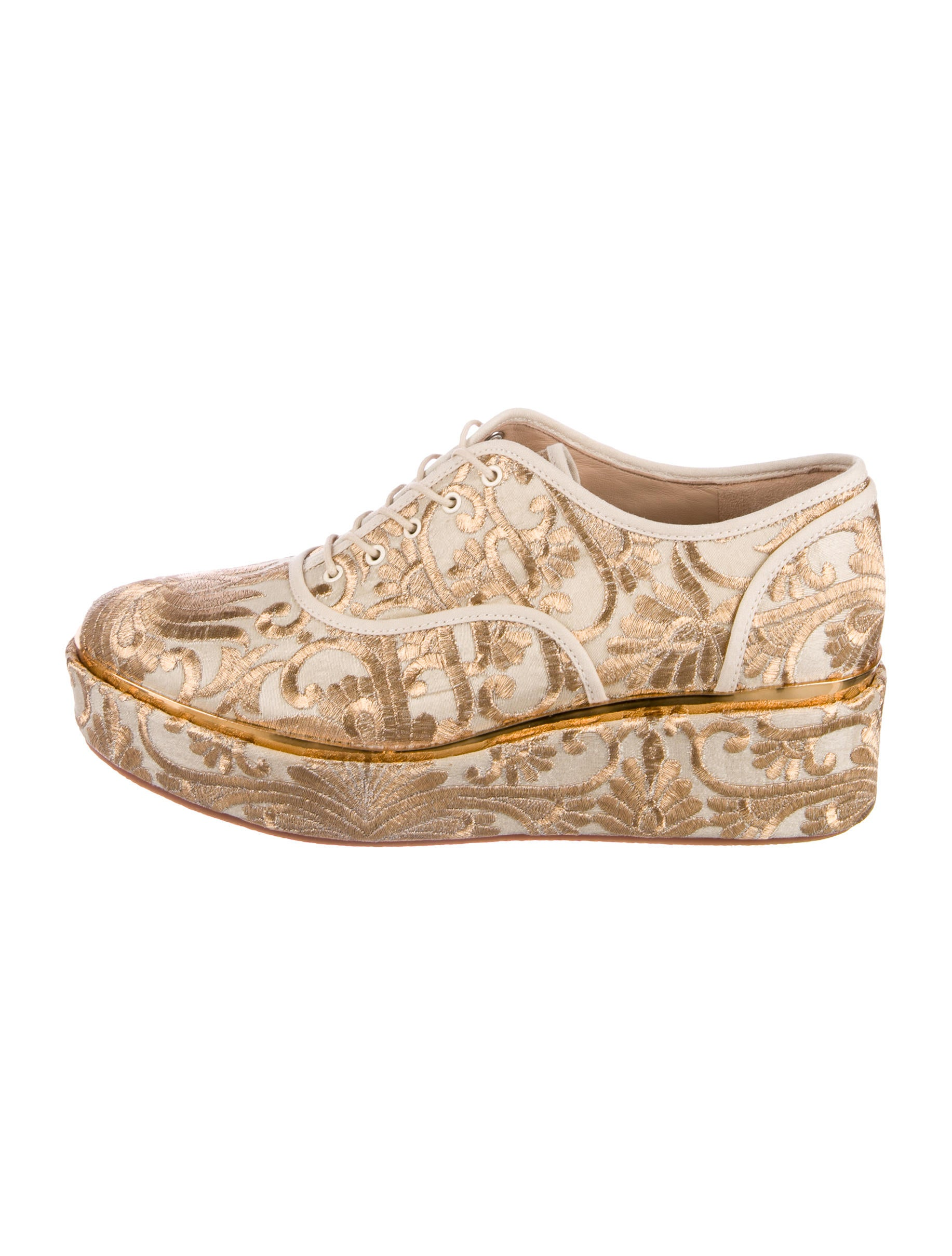 ed18b22660a Tory Burch Brocade Arden Platform Oxfords - Shoes - WTO124764
