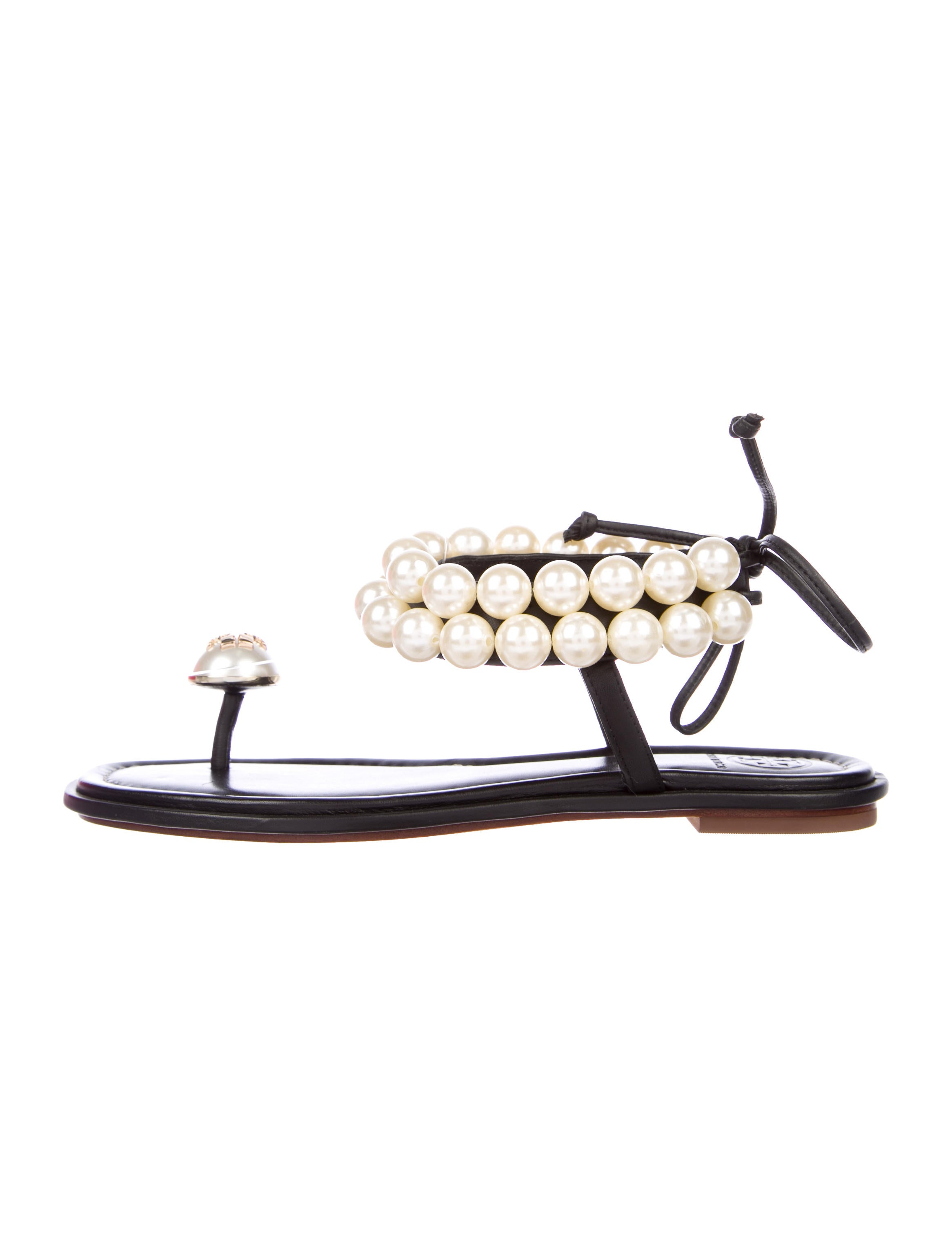 57c48d6d7a83 Tory Burch Melody Pearl Sandals w  Tags - Shoes - WTO124935