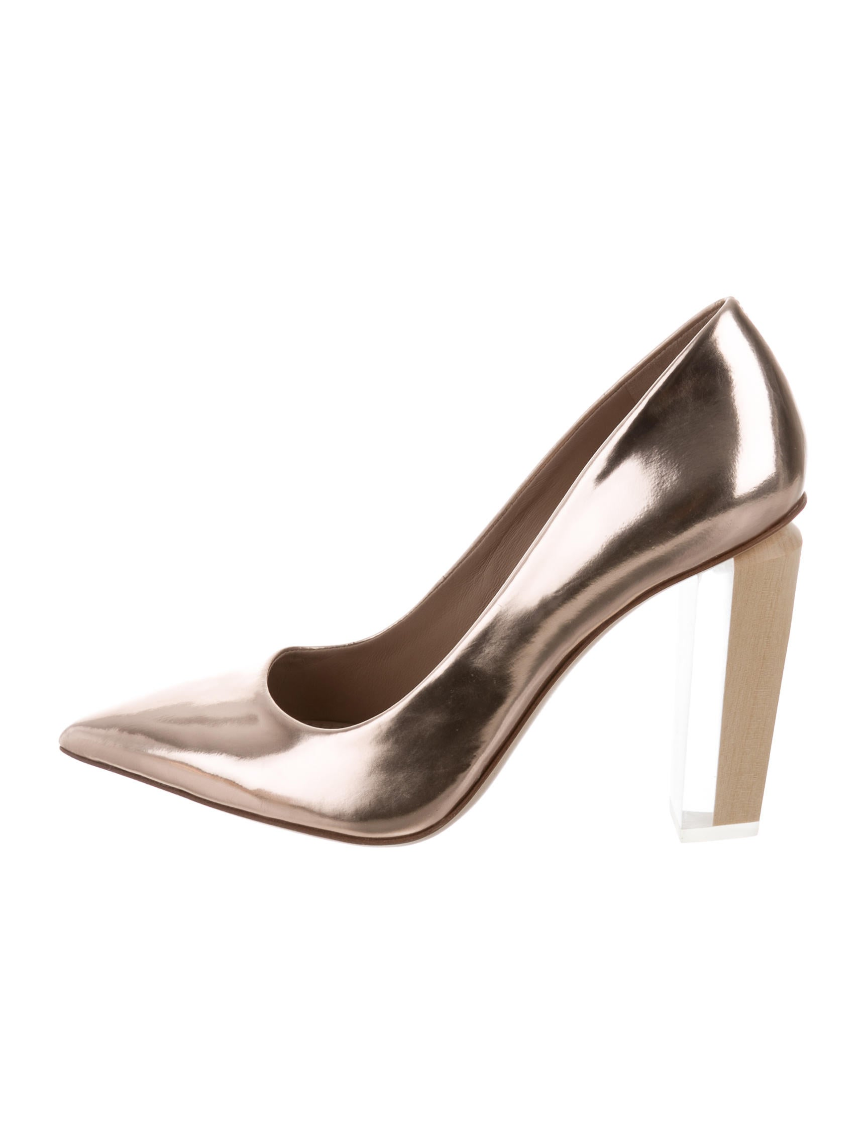 metallic pointed pumps Tory Burch J3s7ZkpSc