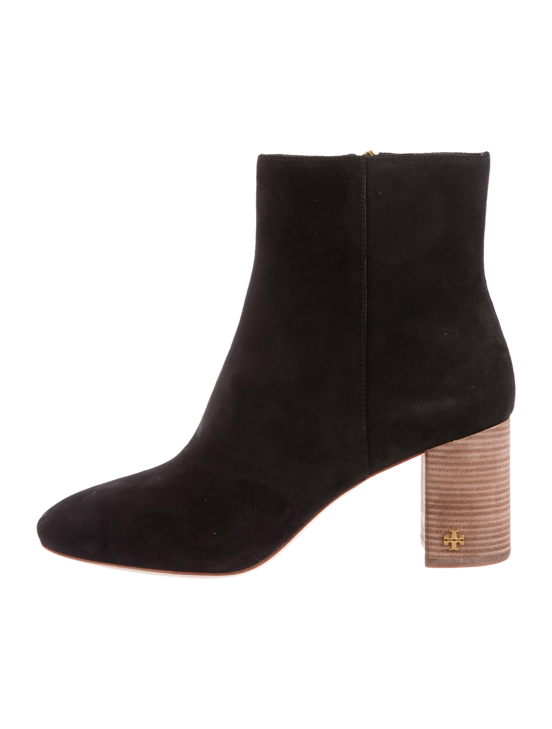 Tory Burch Brooke Suede Ankle Boots w/ Tags cheap big sale outlet newest geniue stockist for sale pre order online big discount online Q83kqfShbR