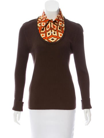 Tory Burch Wool & Silk Knit Sweater w/ Tags None
