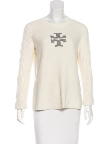 Tory Burch Long Sleeve Knit Top None
