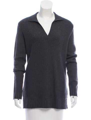 Tory Burch Mélange Wool Sweater w/ Tags None