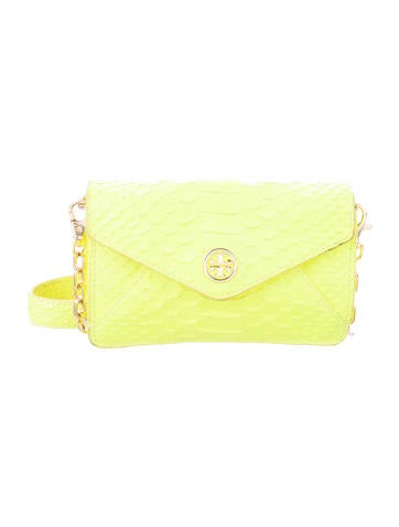 Tory Burch Embossed Leather Bag None