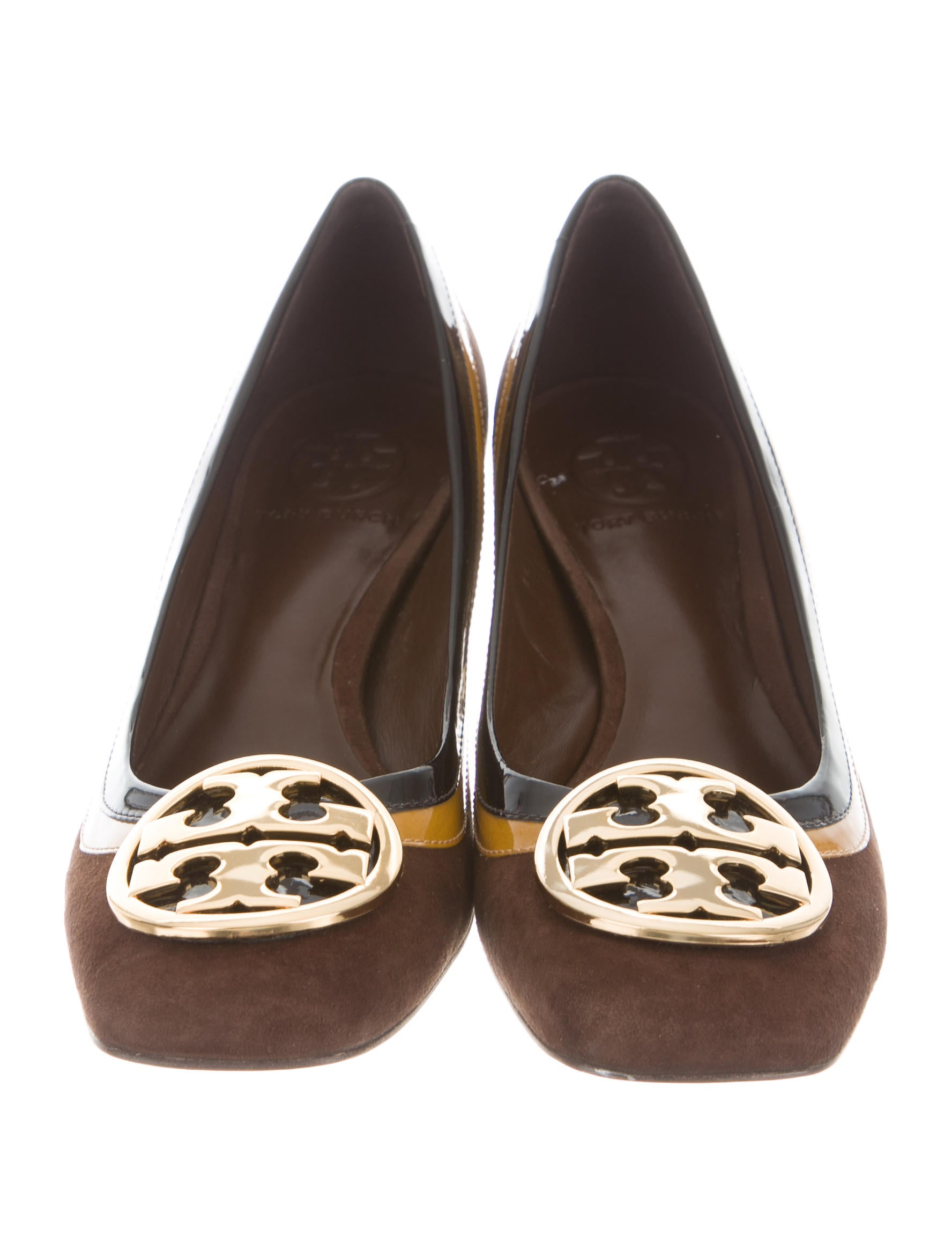 discount very cheap buy cheap extremely Tory Burch Frannie Logo Pumps w/ Tags visa payment for sale cheap authentic 9prD8m