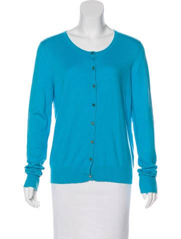 Tory Burch Button-Up Knit Cardigan None