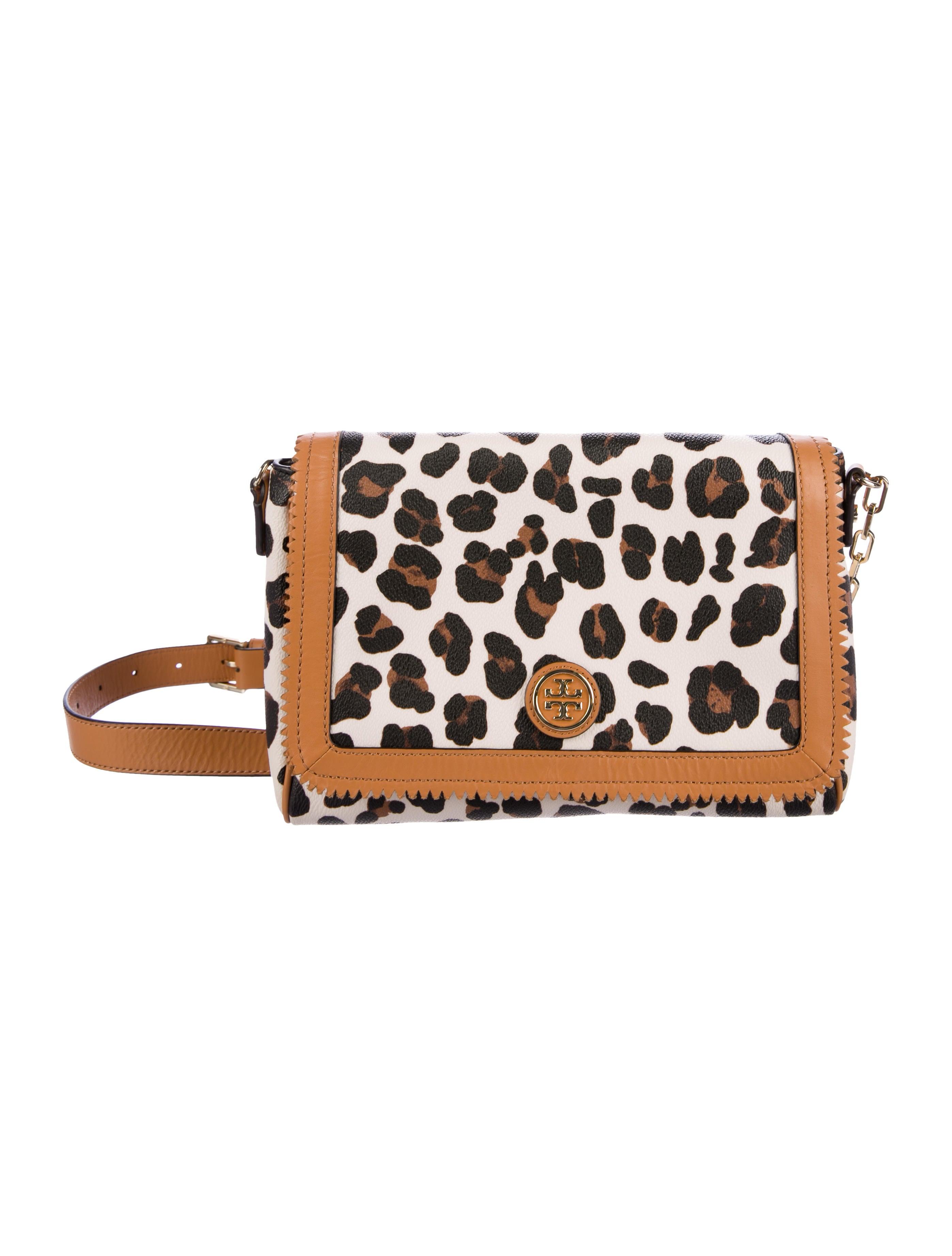 f6fe517c545 Tory Burch Kerrington Leopard Print Crossbody Bag - Handbags ...