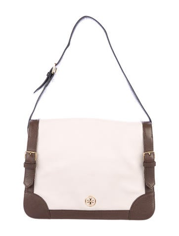 Tory Burch Leather Ally Shoulder Bag None