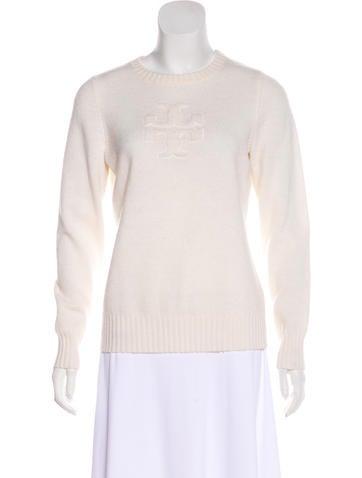 Tory Burch Wool Logo Sweater None