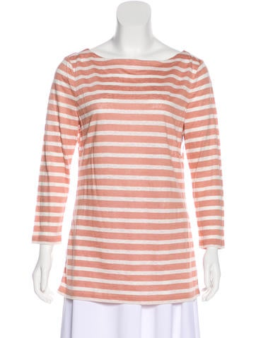 Tory Burch Linen Knit Top W Tags Tops Wto132465 The Realreal