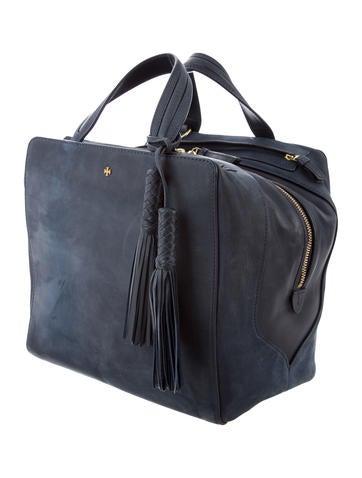 2c84cd8e379 Tory Burch Hudson Bag Cube Satchel - Handbags - WTO133762