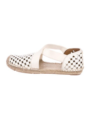 80e51bd8194a9f Product Name Tory Burch Catalina Perforated Leather Espadrilles w  Tags