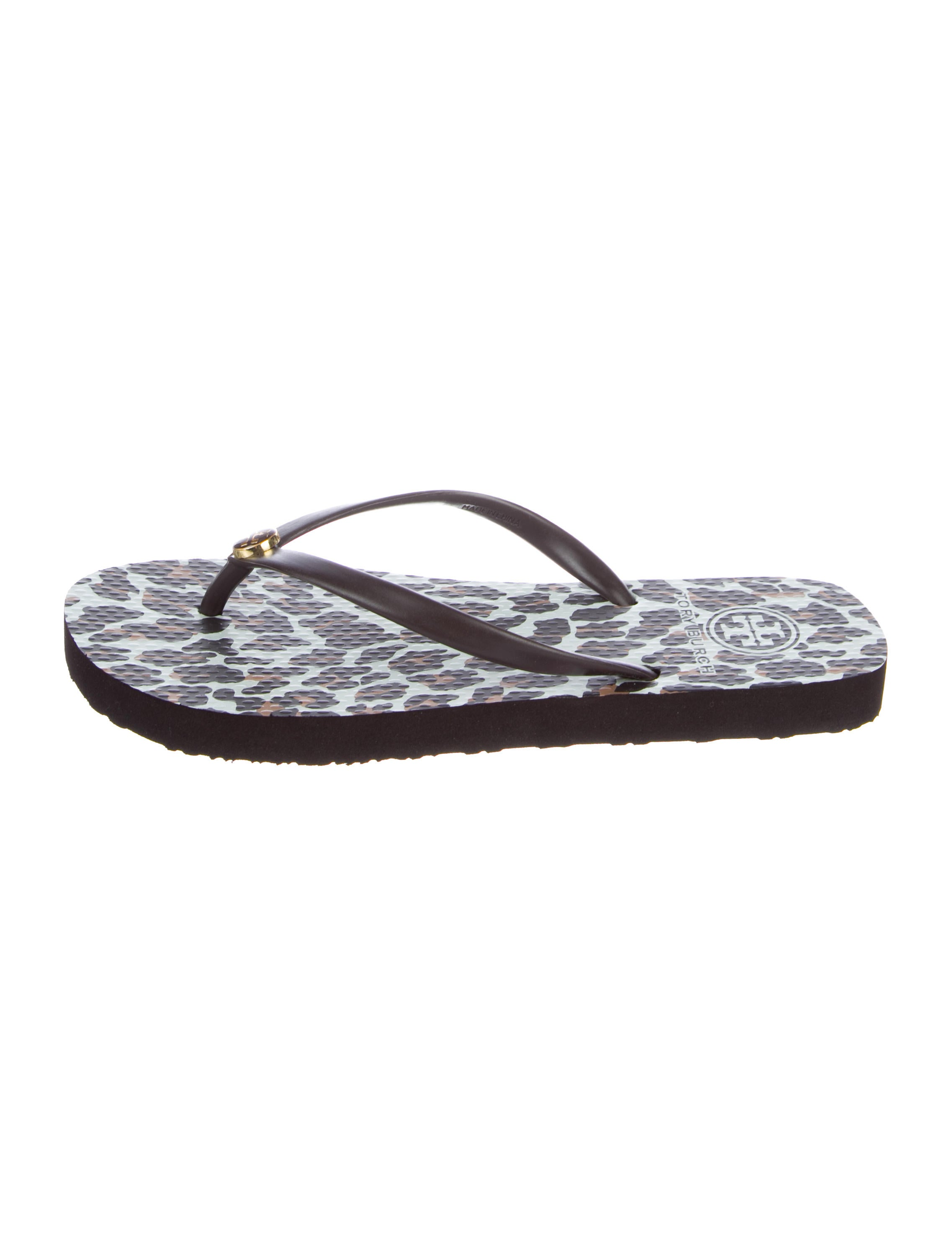 64eb20a40c01a Tory Burch Reva Printed Thong Sandals w  Tags - Shoes - WTO135609 ...