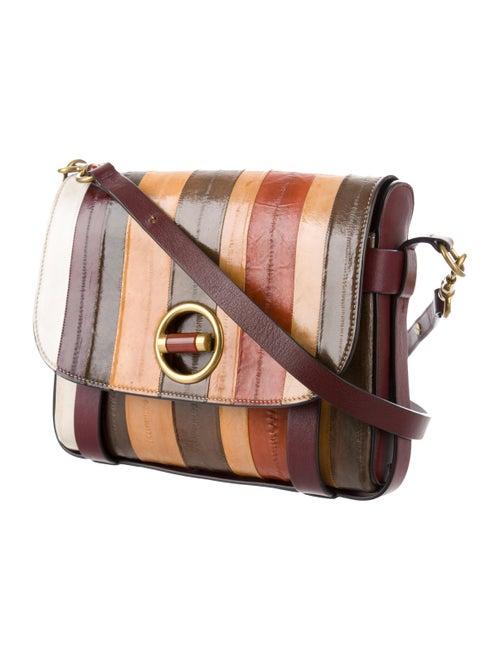 fbe310bc7a8 Tory Burch Alastair Small Striped Eel Skin Crossbody Bag - Handbags ...