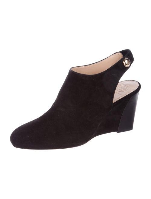 63b2eea16 Tory Burch Marisa 85MM Open Back Wedge Booties w  Tags - Shoes ...