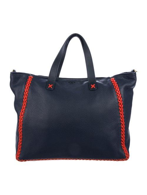 b16c1ec09d8 Tory Burch Whipstitch Leather Medium Softy Tote w  Tags - Handbags ...
