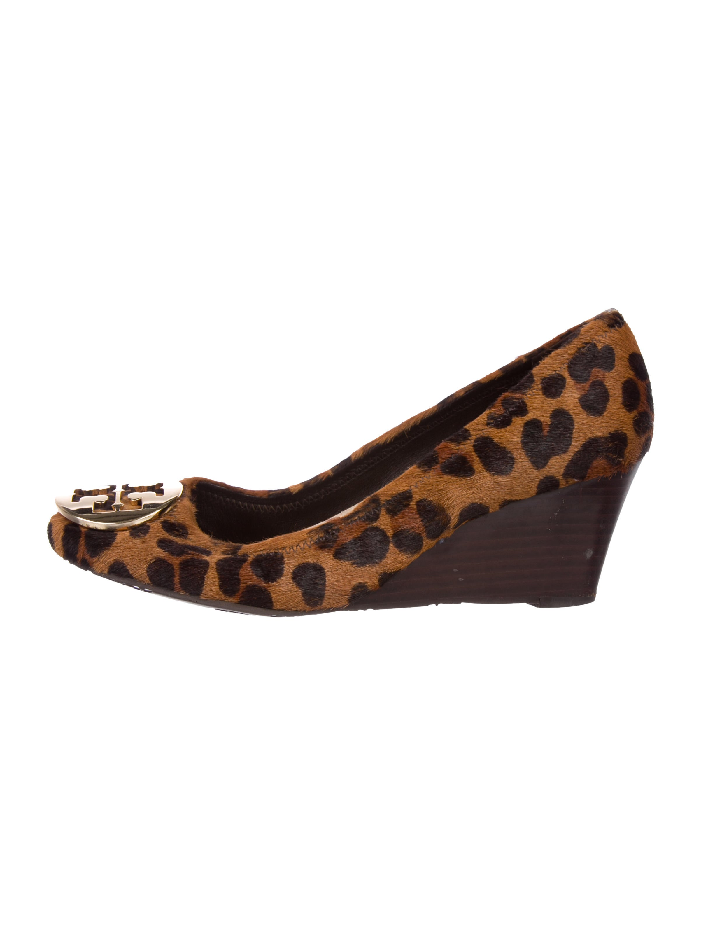 d49a6f2e3 Tory Burch Ponyhair Printed Wedges - Shoes - WTO146853