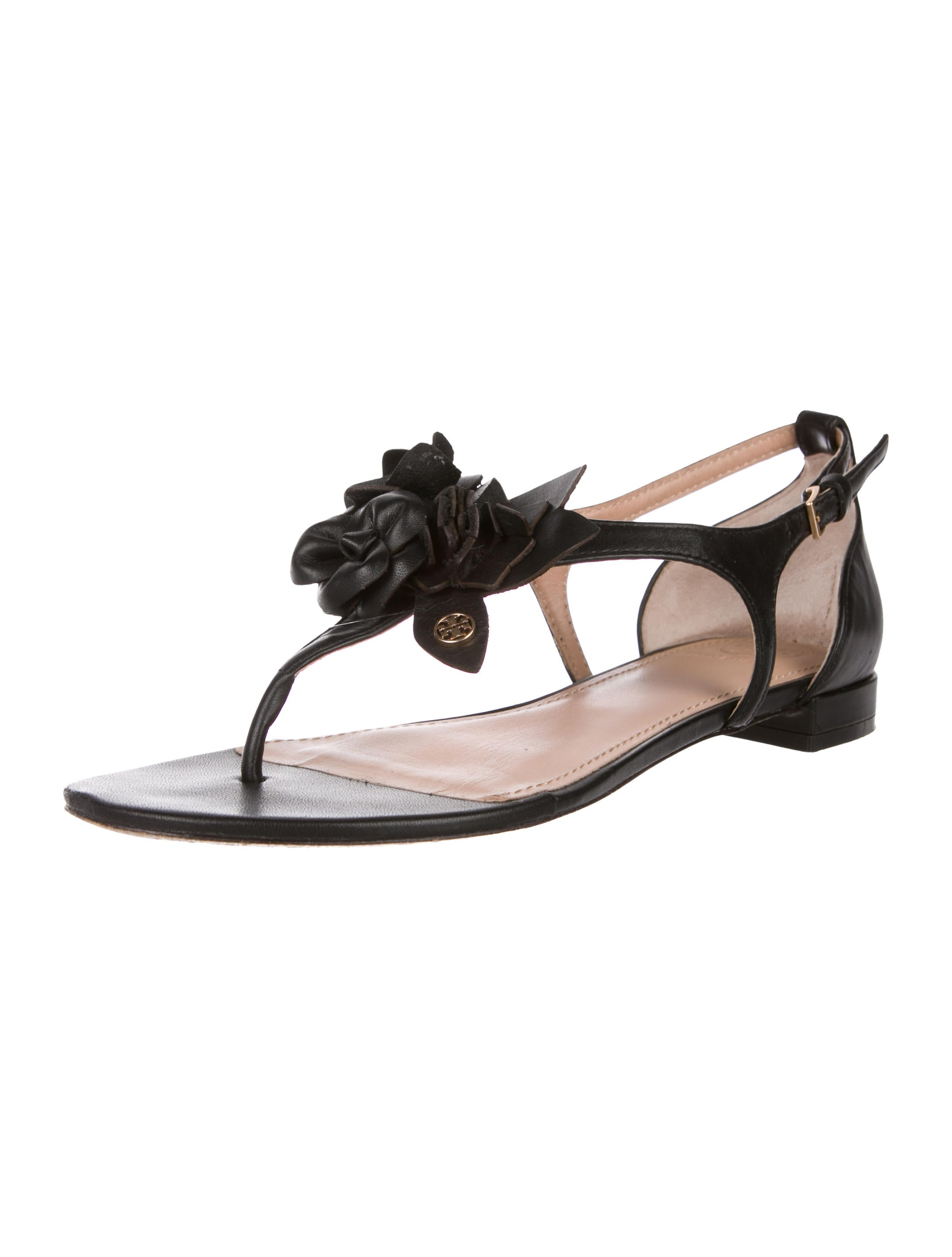 e8d018ac2a0d7f Tory Burch Blossom Thong Sandals - Shoes - WTO147774
