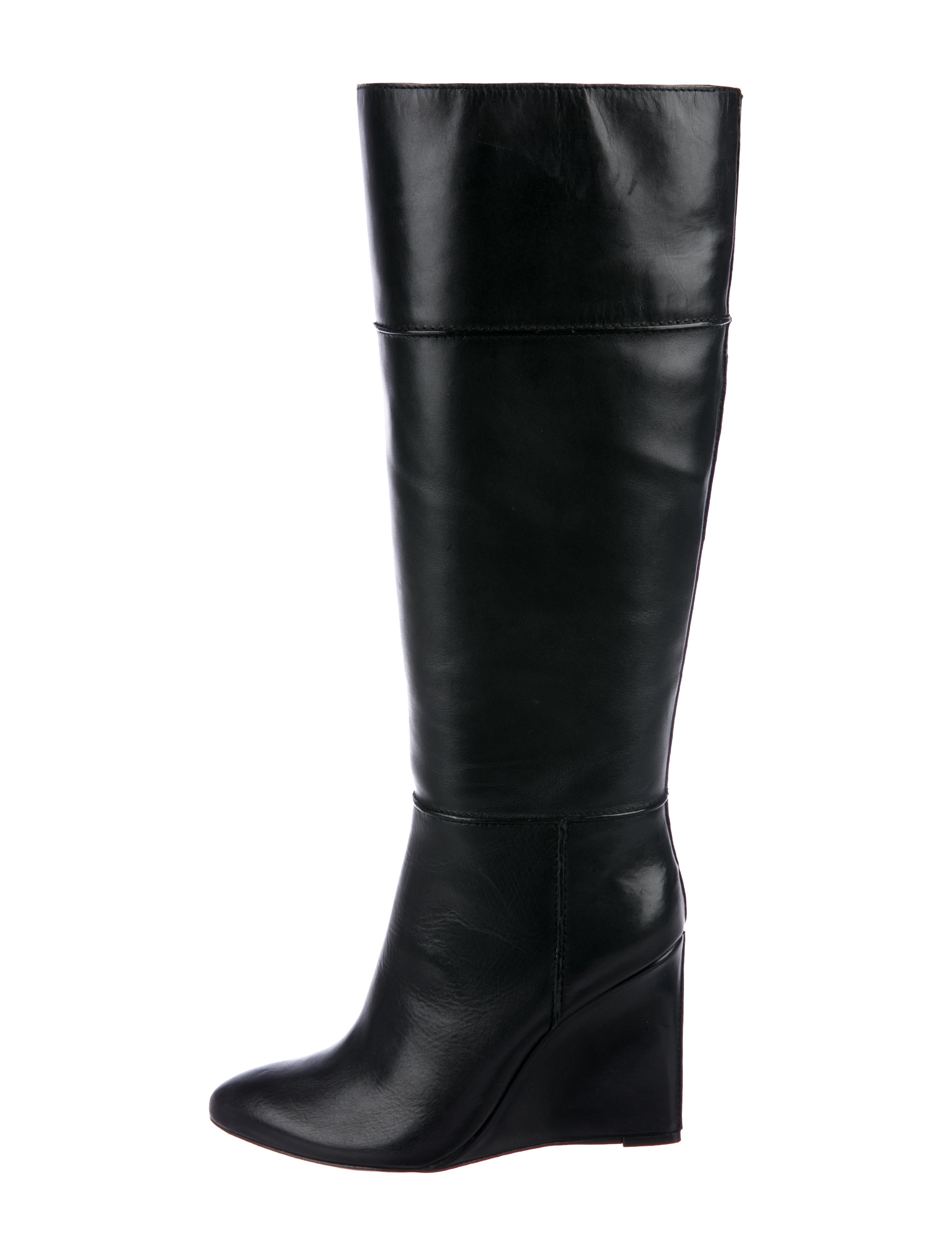 ff9c482692f Tory Burch Linnett Knee-High Boots - Shoes - WTO149186