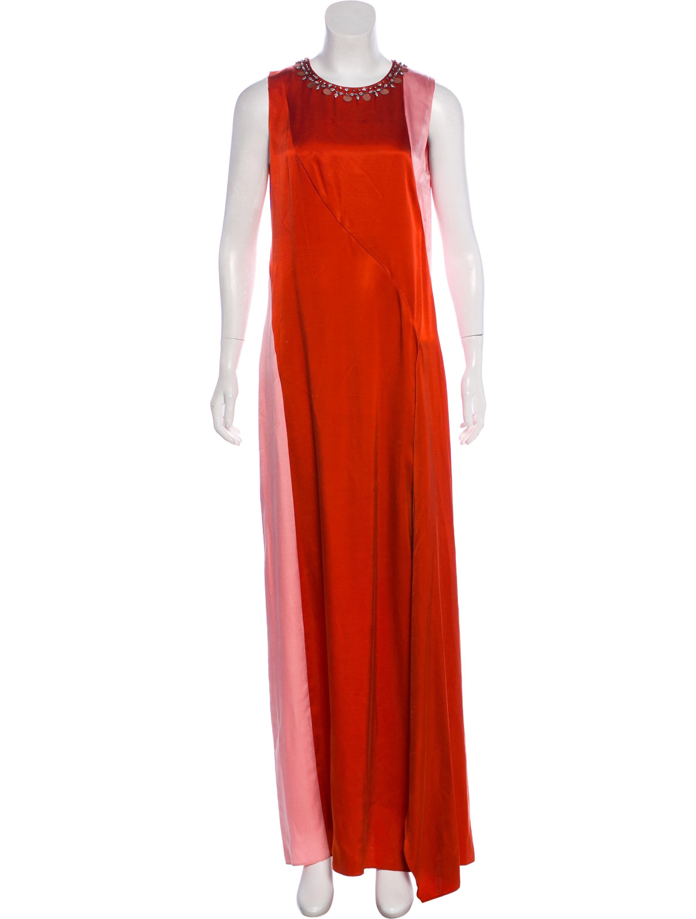 Tory Burch Sleeveless Evening Dress w/ Tags - Clothing - WTO150252 ...