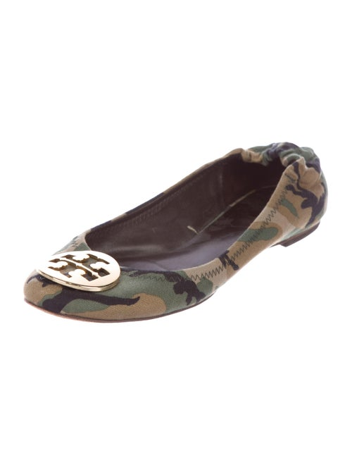 3f4494dced67 Tory Burch Reva Camouflage Flats - Shoes - WTO150349